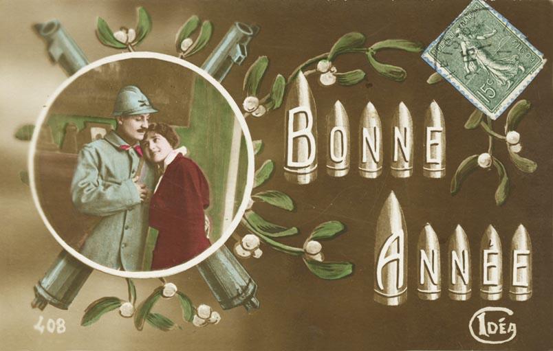 Carte de voeux de 1917